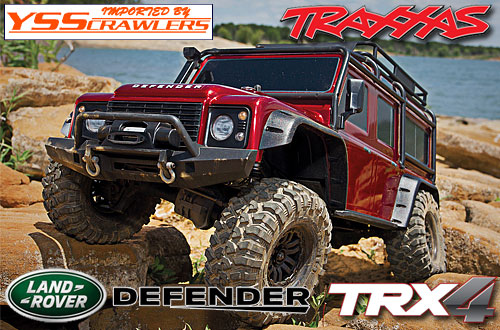 Traxxas TRX-4 ディフェンダー D110 RTR![レッド]
