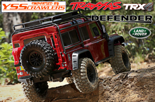 Traxxas TRX-4 Defender D110 RTR! [Red]