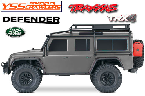 Traxxas TRX-4 Defender D110 RTR! [Silver]