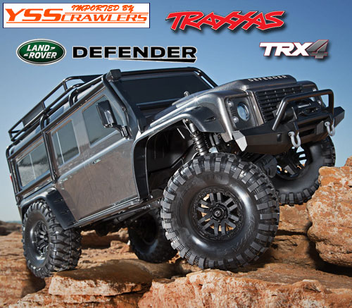 Traxxas TRX-4 ディフェンダー D110 RTR![ガンメタ][予約]