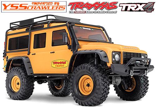 Traxxas TRX-4 ディフェンダー D110 RTR![タン][限定][予約]