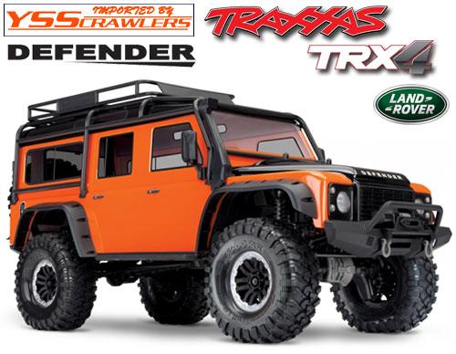 Traxxas TRX-4 ディフェンダー D110 RTR![オレンジ][限定]