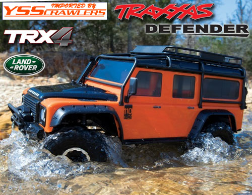 Traxxas TRX-4 ディフェンダー D110 RTR![オレンジ][限定][予約]