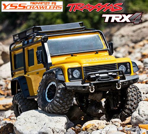 Traxxas TRX-4 ディフェンダー D110 RTR![イエロー][限定][予約]