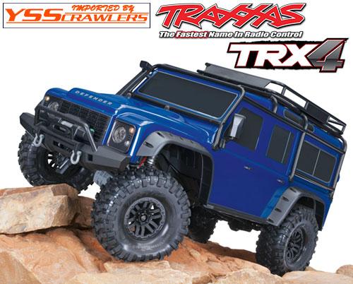 Traxxas TRX-4 ディフェンダー D110 RTR![メタリックブルー][予約]