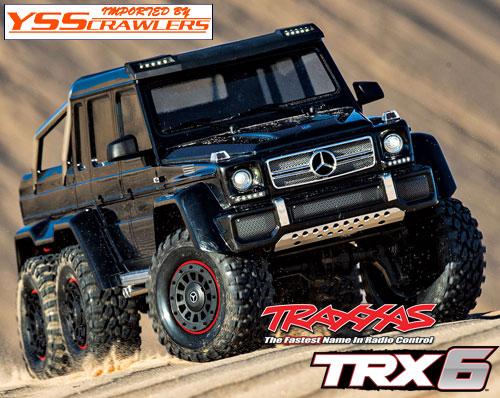 Traxxas TRX-6 メルセデス G63 AMG 6x6 RTR![ブラック][予約]