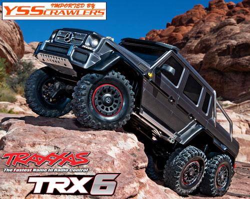 Traxxas TRX-6 メルセデス G63 AMG 6x6 RTR![ガンメタ][予約]
