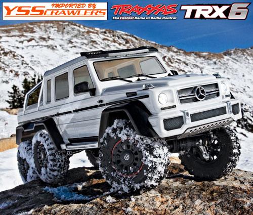 Traxxas TRX-6 メルセデス G63 AMG 6x6 RTR![ホワイト][予約]