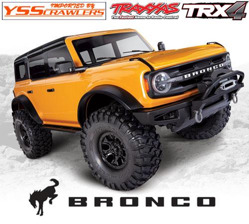 Traxxas TRX-4 フォード ブロンコ 2021 RTR!