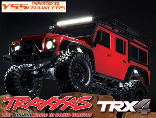 Traxxas フル LEDライトキット for ディフェンダーD110[TRX-4]
