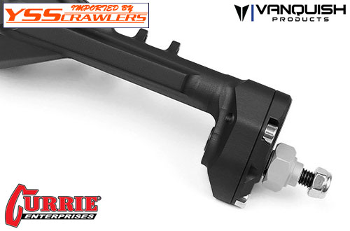 VP Currie Portal F9 SCX10-II Front and Rear Axle set![Black]