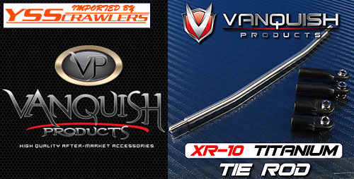 Vanquish Products Bent Titanium Tie Rod XR10