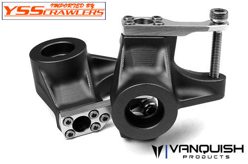 VP Axial SCX10-II Knuckles Black Anodized!