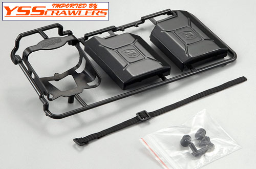 YSS Killerbody Black Plastic Jerry Can Set![w holder]
