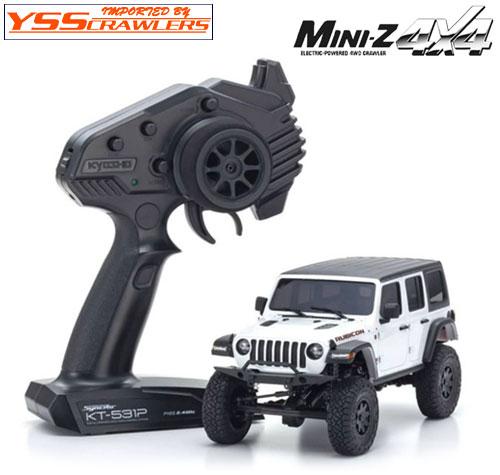 京商 Mini-Z 4x4 ジープラングラー アンリミテッドルビコン ブライトホワイト!