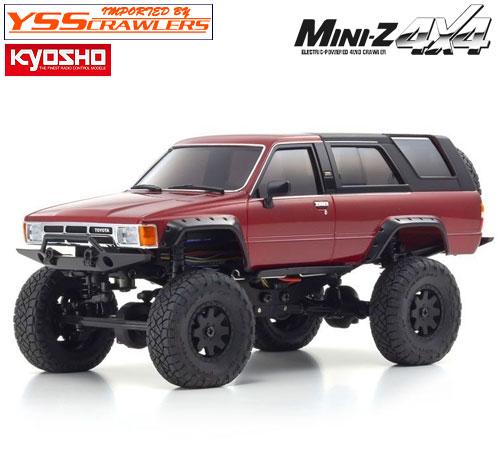 京商 Mini-Z 4x4 トヨタ 4Runner メタリックレッド!
