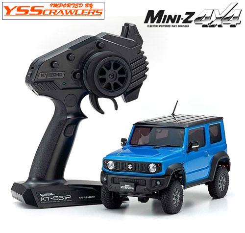 京商 Mini-Z 4x4 スズキ ジムニー ブリスクブルーメタリック!