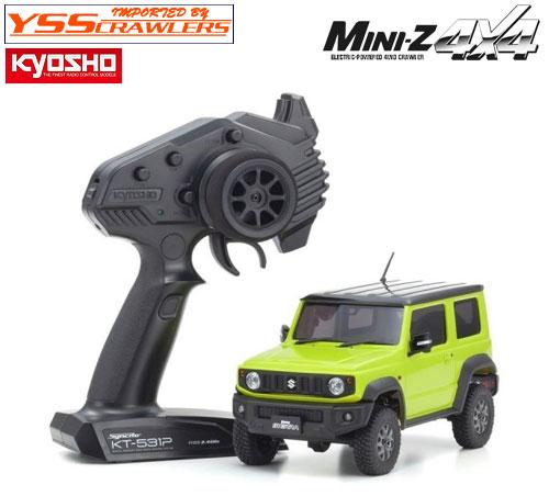 京商 Mini-Z 4x4 スズキ ジムニー シエラ キネティックイエロー!