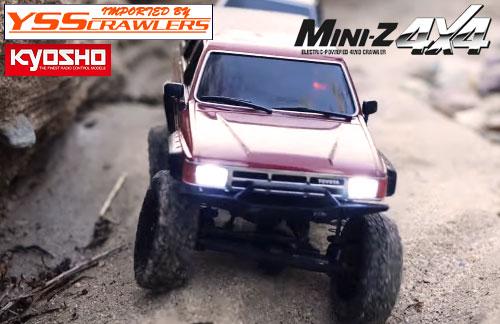 京商 Mini-Z 4x4用 LED電飾セット![ヘッドライト][テールライト]