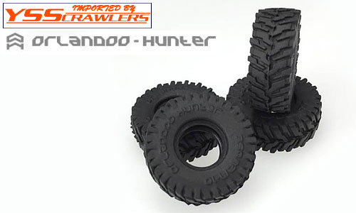 YSS Orlandoo - Hunter - Big Block Tires for 1/35 Jeep!