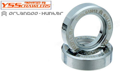 YSS Orlandoo - Hunter - Steel Wheel Weight for 1/35 Jeep![2pcs]
