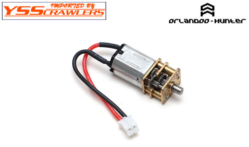 YSS Orlandoo - Hunter - Micro 120rpm Brushed Motor w Reduction!