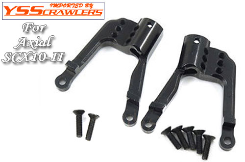 XS Adjustable Alum HD Rear Shock Towers for SCX10-II!