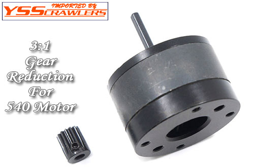 YSS XS 3:1 Gear Reduction unit for 540 motor!