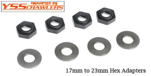 YSS 17mm to 23mm Wheel Hex Adapters! [4pcs]