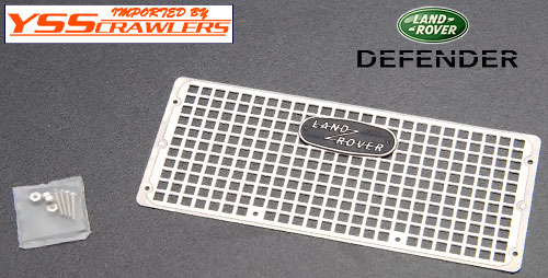 YSS Metal Front Grill with Logo for Defender