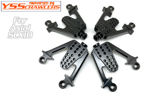 XS Adjustable Alum HD F&R Shock Towers for SCX10!