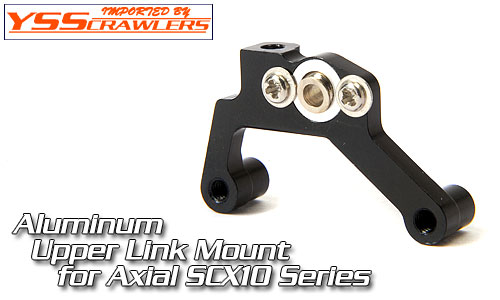 YSS Full Alum Upper Link Mount for AX10 and SCX10![1pcs]