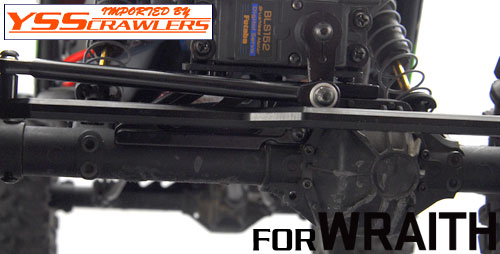 YSS Alum Front Upper Link Mount for Wraith [FB]