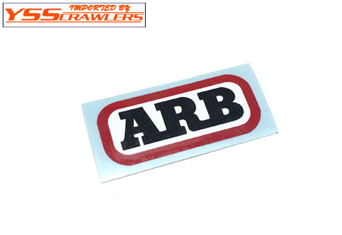 YSS Scale Sticker - ARB ロゴ!