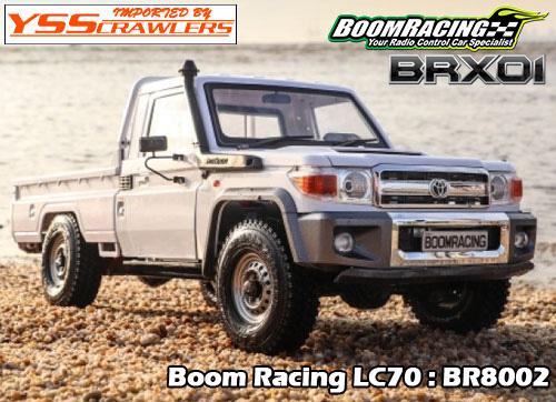 YSS BR BRX01 1/10 ランクルL70 クローラー!
