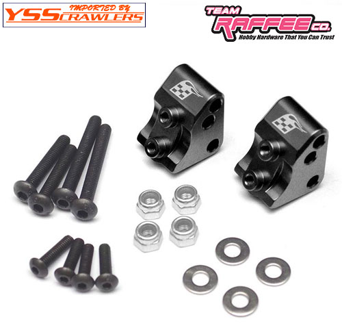 YSS BR アルミ AR44 リンクマウント for Axial SCX10-II![ブラック]