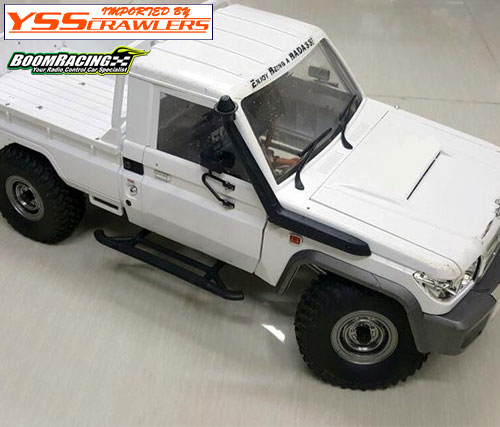 BR 1.55 Yota LC70 Stock Steelie Beadlock Wheels Rear