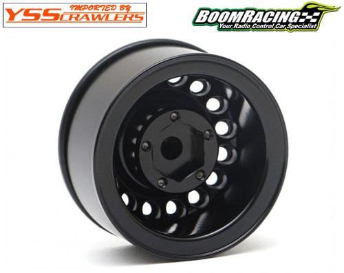 Boom Racing 16-Hole 1.55 Classic Steelie Beadlock Wheels