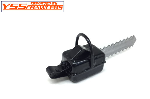 YSS 1/10 Scale Chain Saw! [Black]