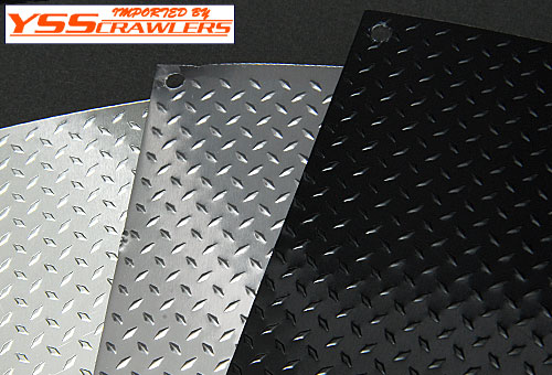 YSS 1/10 scale aluminum Diamond Plates!