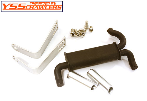 YSS Real Exhaust Set for Traxxas TRX-4!