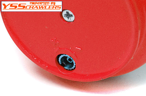 YSS Scale Parts Gas Tank! [Red]