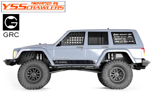 GRC Plastic Front & Rear Inner Fender Set for Axial SCX10-II!