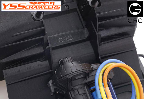 GRC 3D PLA Battery Plate for Axial SCX10-II!