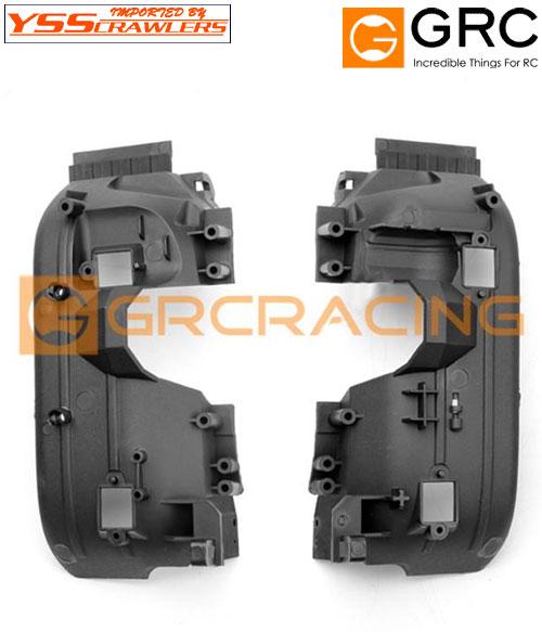 YSS GRC ナイロン フロント インナーフェンダー セット for TRX-4![D110]