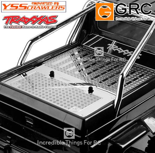YSS GRC - ステンレススチール トランク プレート for メルセデス!