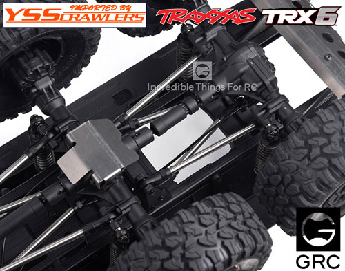 GRC Stainless Steel Suspension Link for TRX6