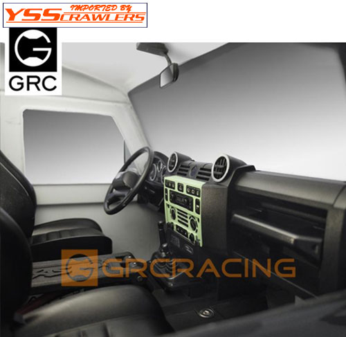GRC Cockpit Interior Kit for TRX-4 Defender for Traxxas TRX-4