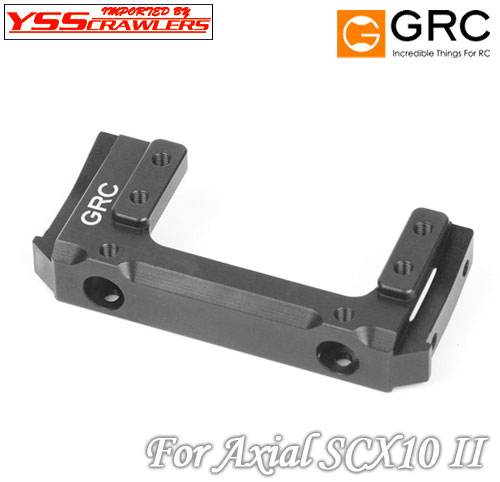 YSS GRC Alum 7075 Front Mounted Servo Kit for SCX10-II