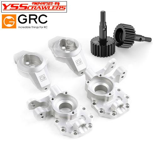 YSS GRC G2 アルミ アッカーマン ステアリングコンバージョンキット for TRX-4![全車種対応]